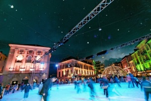 Locarno on Ice festival in Switzerland. (Remy Steinegger / swiss-image.ch / Ticino Turism)
