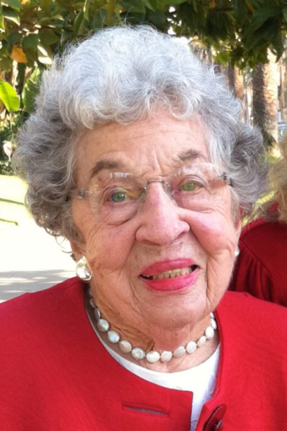 Doris Ritzi, October 23, 1922 - April 16, 2012